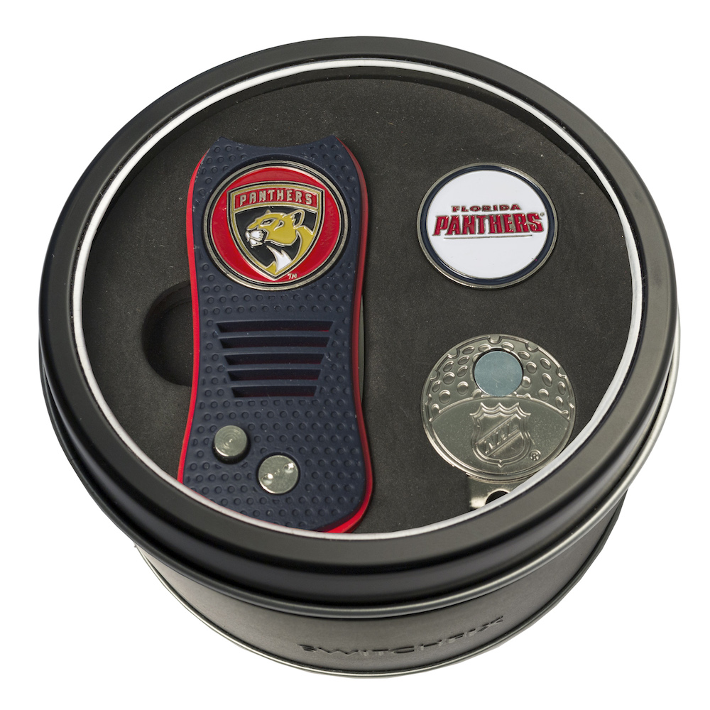 Florida Panthers Switchblade Divot Tool Cap Clip and Ball Marker Gift Pack
