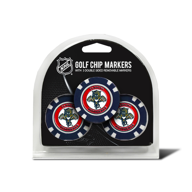 Florida Panthers 3 Pack Golf Chips