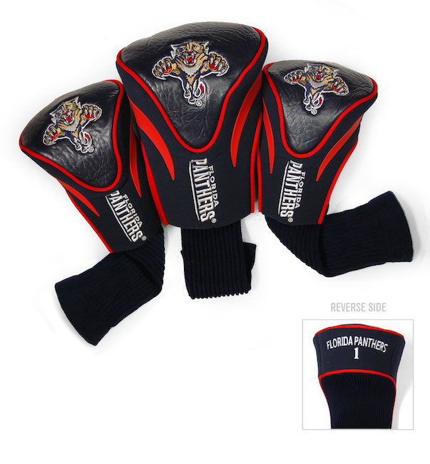 Florida Panthers 3 Pack Contour Headcovers