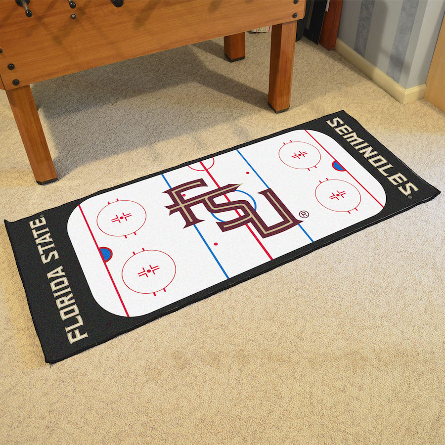 Florida State Seminoles 30 x 72 Hockey Rink Carpet Runner
