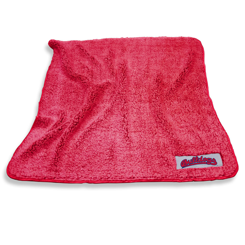 Fresno State Bulldogs Color Frosty Throw Blanket