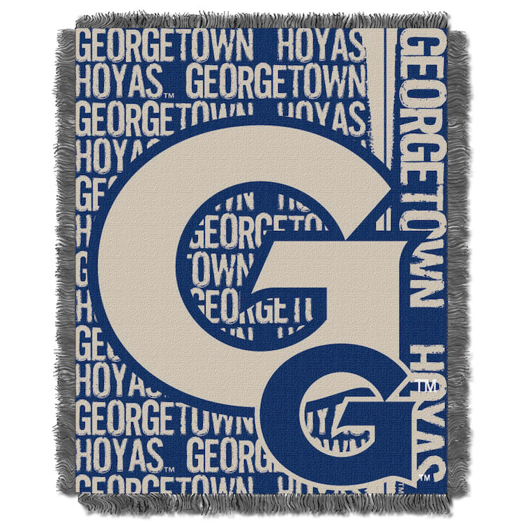 Georgetown Hoyas Double Play Tapestry Blanket 48 x 60
