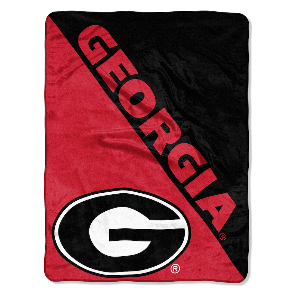 Georgia Bulldogs Micro Raschel 50 X 60 Team Blanket Buy