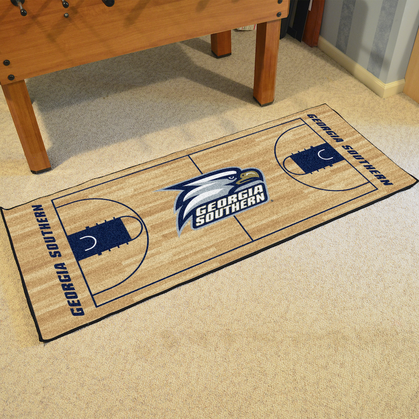 Georgia Southern Eagles 30 x 72 Basketball Court Carpet Runner