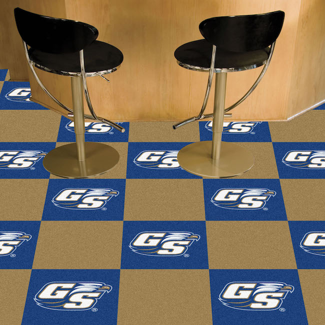 Georgia Southern Eagles Carpet Tiles 18x18 in.