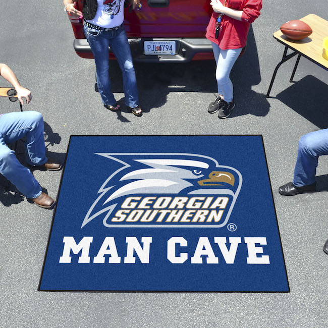 Georgia Southern Eagles MAN CAVE TAILGATER 60 x 72 Rug