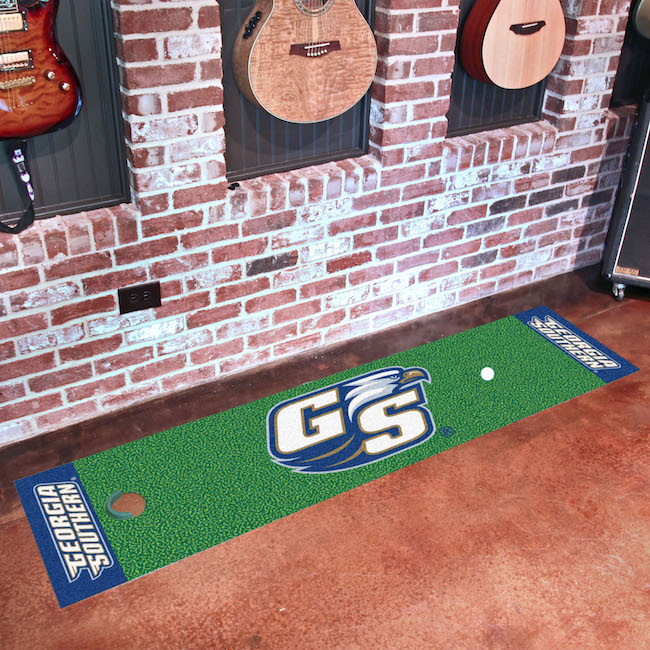 Georgia Southern Eagles Putting Green Mat 18 x 72