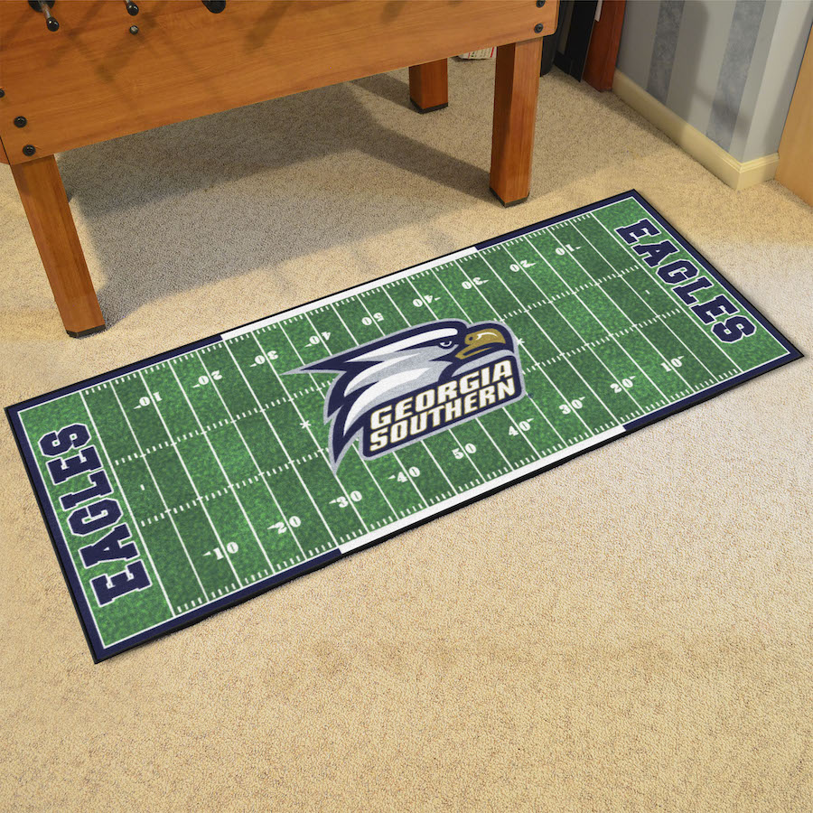 Georgia Southern Eagles 30 x 72 Football Field Carpet Runner