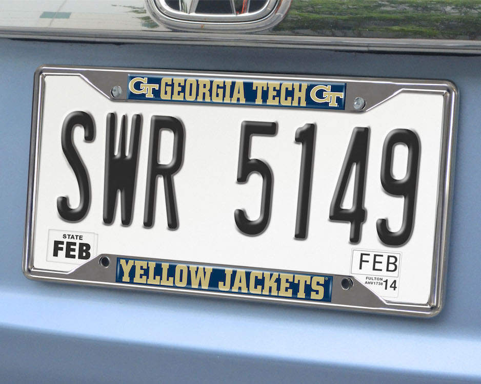 Georgia Tech Yellow Jackets License Plate Frame
