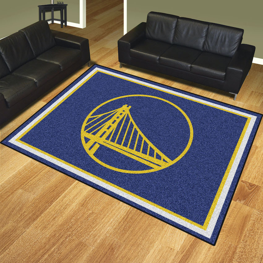 Golden State Warriors Ultra Plush 8x10 Area Rug