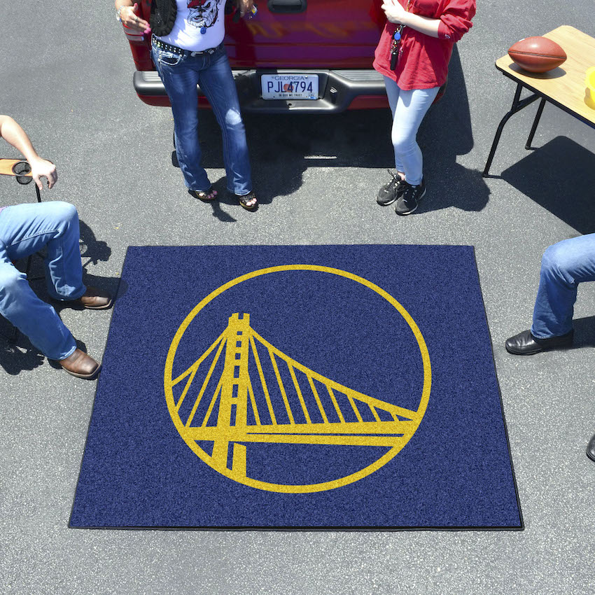 Golden State Warriors TAILGATER 60 x 72 Rug