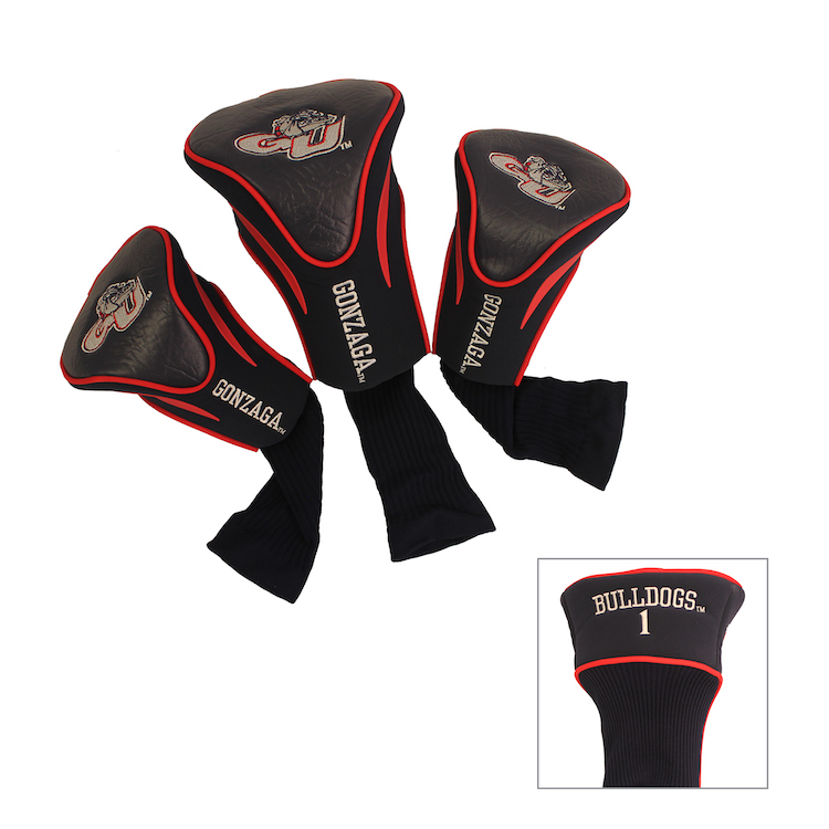 Gonzaga Bulldogs 3 Pack Contour Headcovers