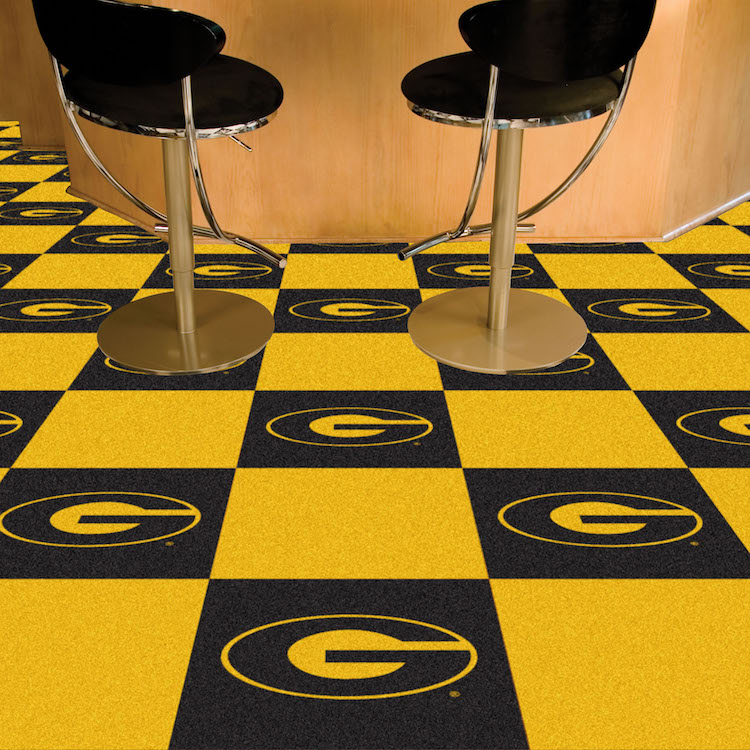 Grambling State Tigers Carpet Tiles 18x18 In Buy At Khc