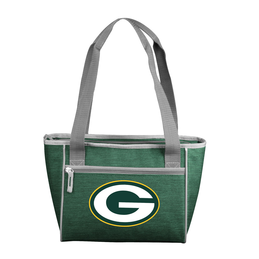 Green Bay Packers Crosshatch 16 Can Cooler Tote