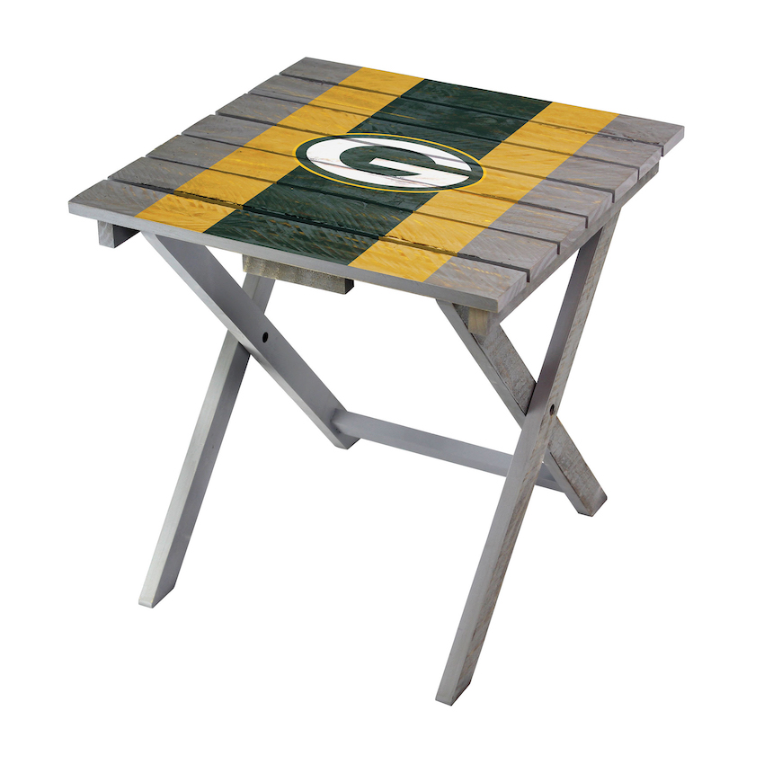 Green Bay Packers Wooden Adirondack Folding Table