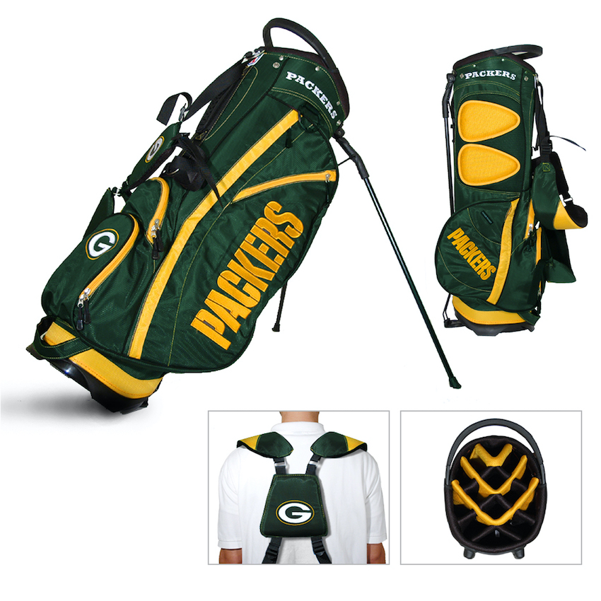 Green Bay Packers Fairway Carry Stand Golf Bag