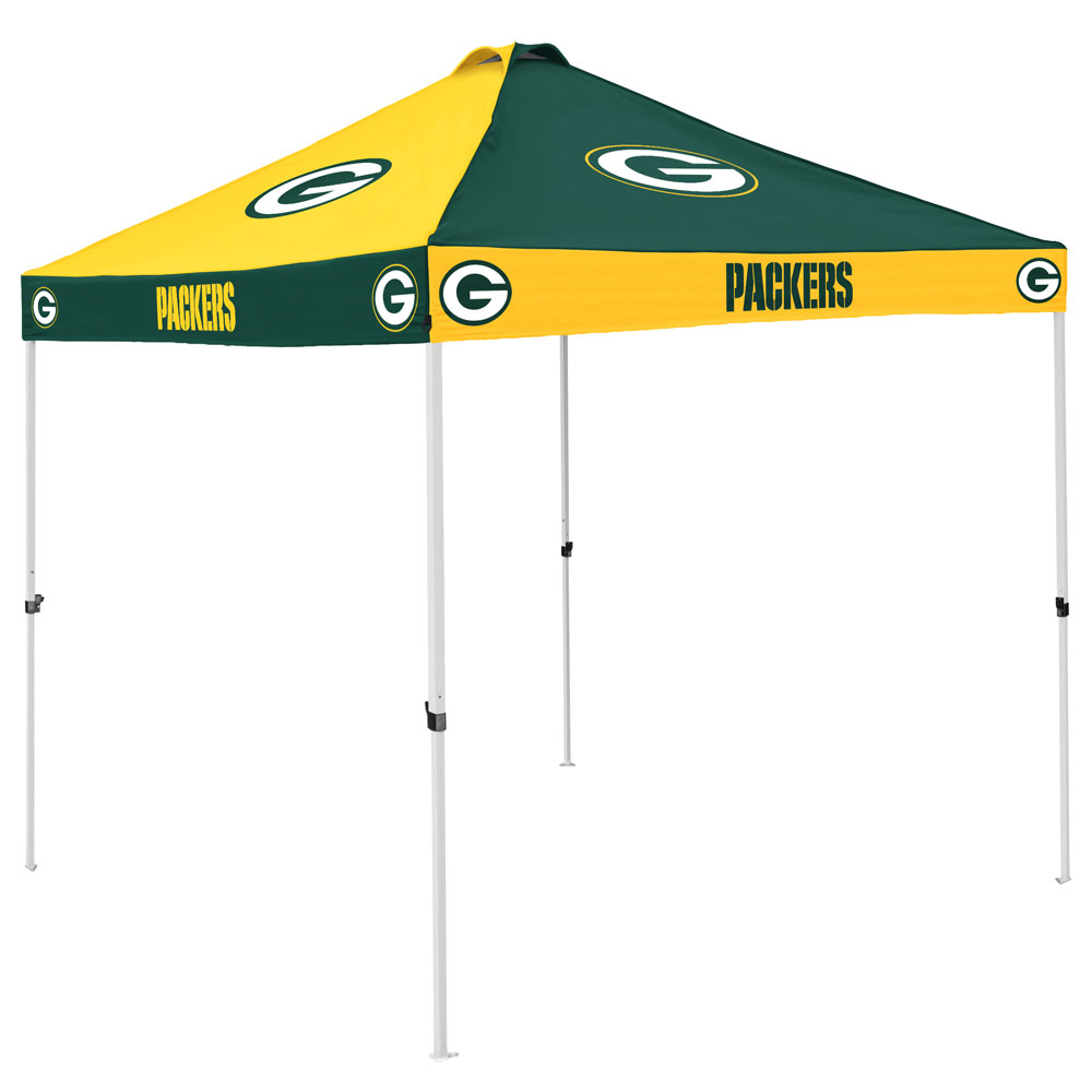 Green Bay Packers Checkerboard Tailgate Canopy