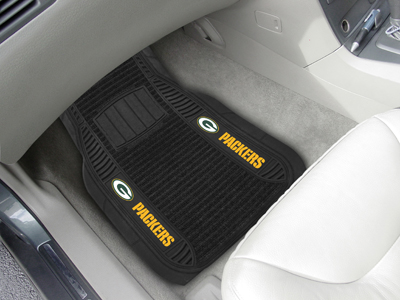 Green Bay Packers Deluxe 20 x 27 Car Floor Mats