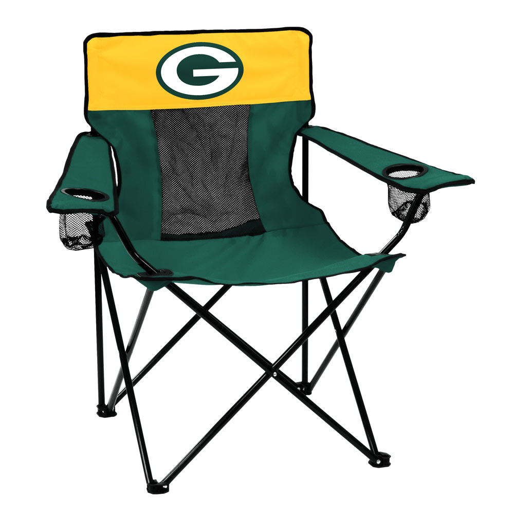Green Bay Packers ELITE logo folding camp style chair