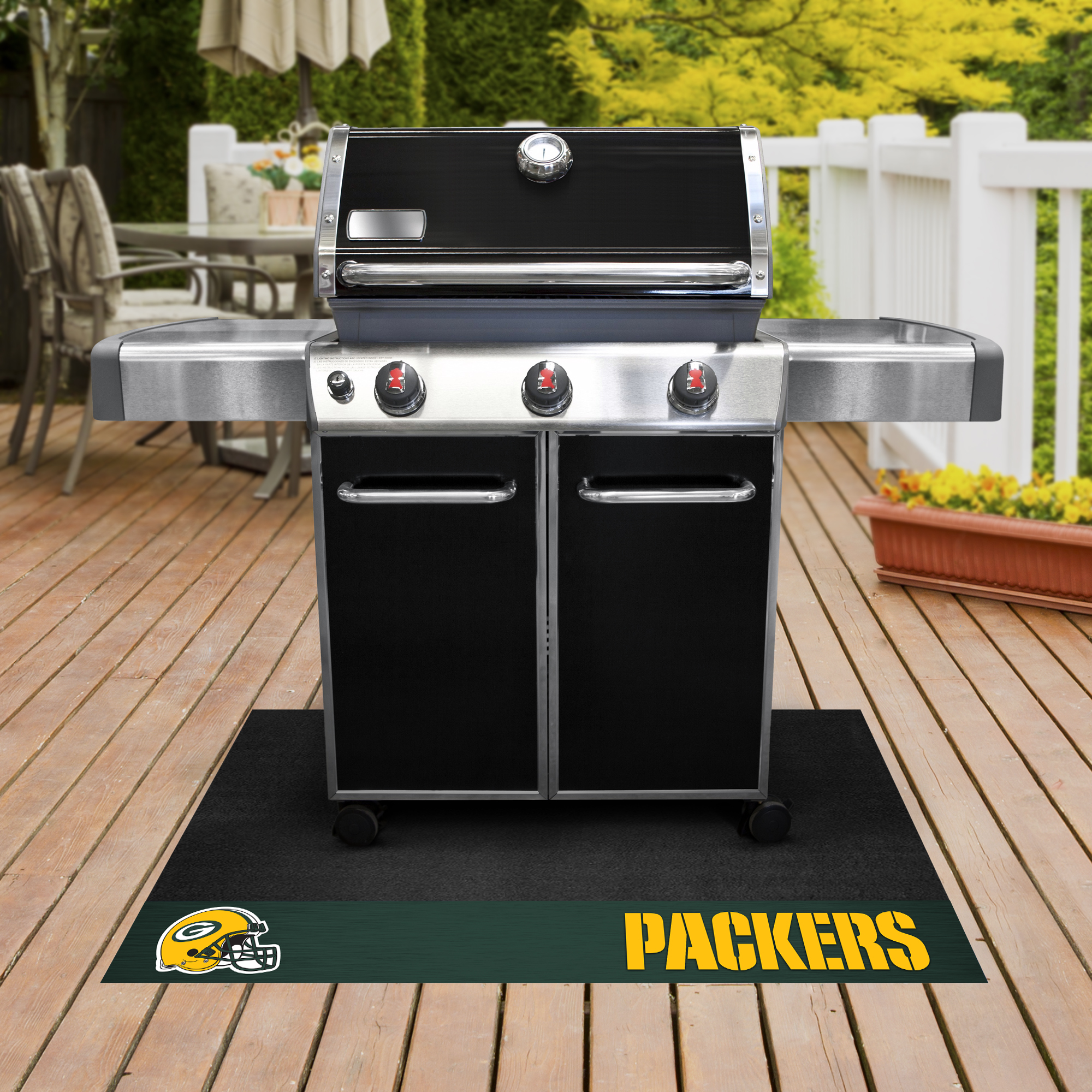 Green Bay Packers NFL Grill Mat