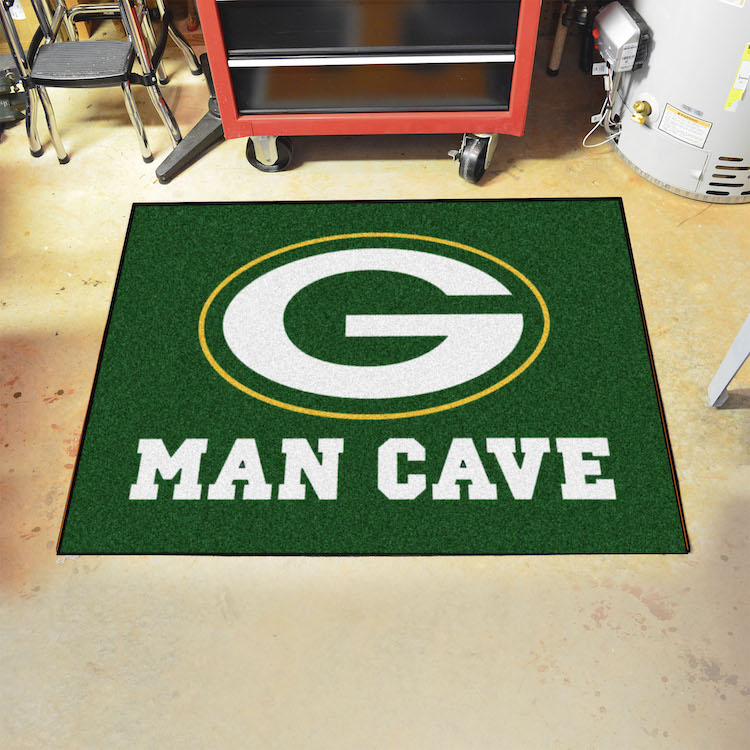 Green Bay Packers ALL STAR 34 x 45 MAN CAVE Floor Mat