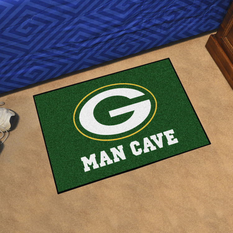 Green Bay Packers MAN CAVE 20 x 30 STARTER Floor Mat