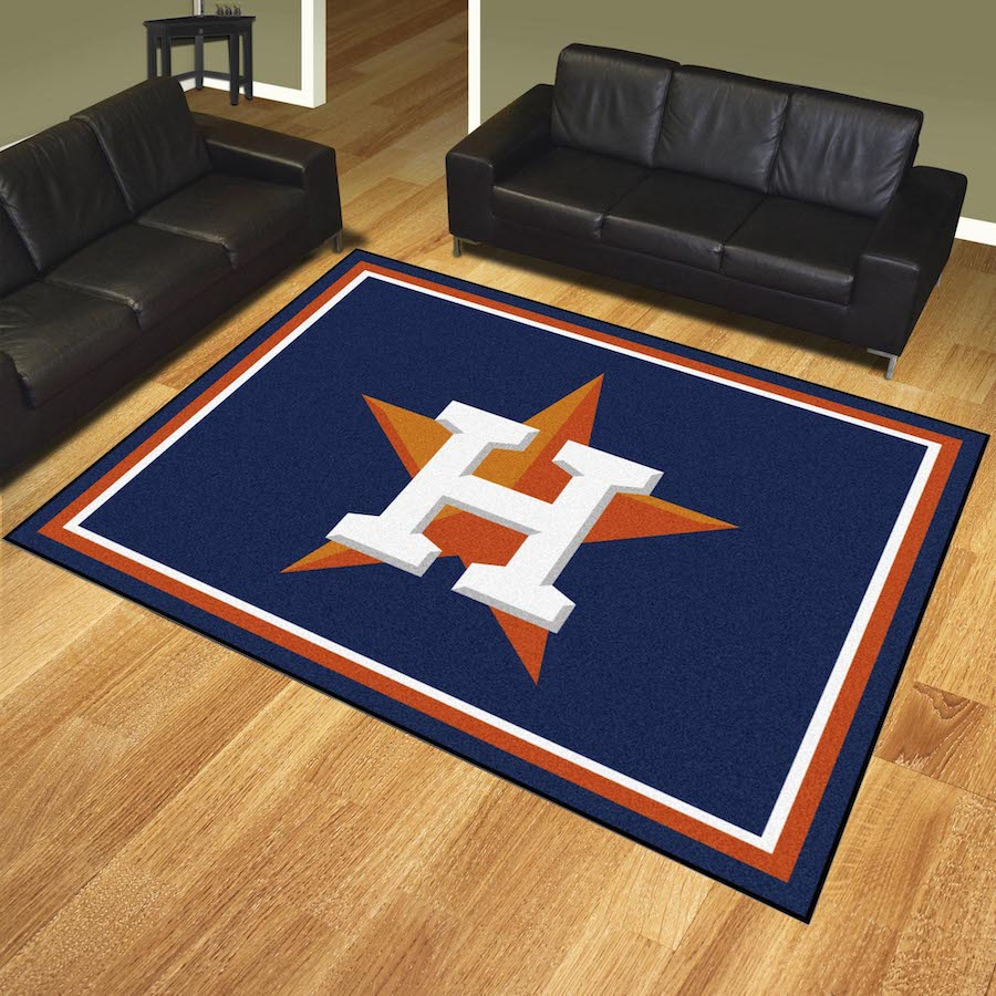 Houston Astros Ultra Plush 8x10 Area Rug