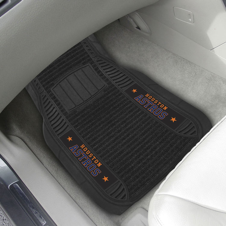 Houston Astros Deluxe 20 x 27 Car Floor Mats
