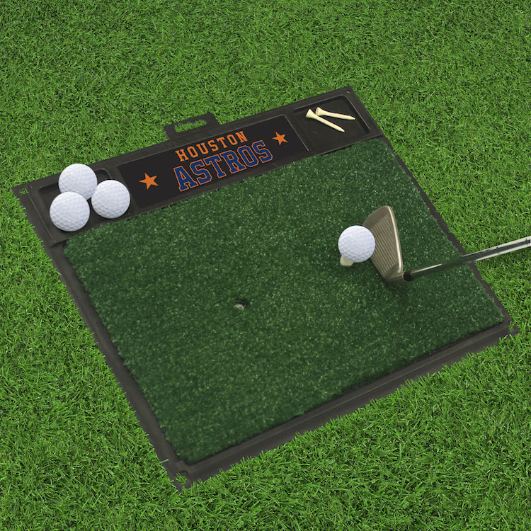 Houston Astros Golf Hitting Mat