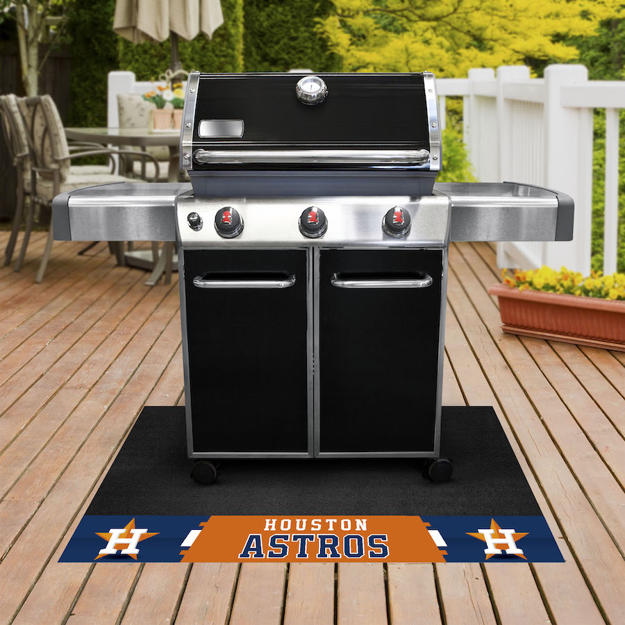 Houston Astros MLB Grill Mat