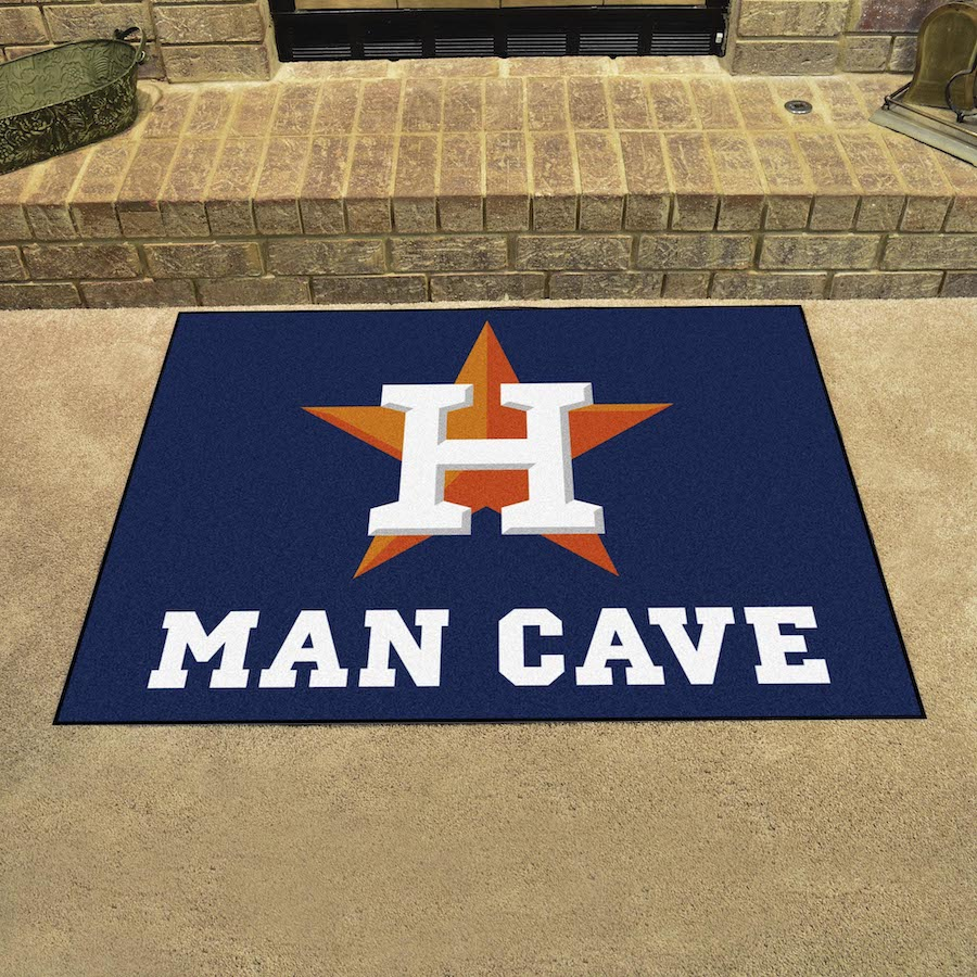 Houston Astros ALL STAR 34 x 45 MAN CAVE Floor Mat