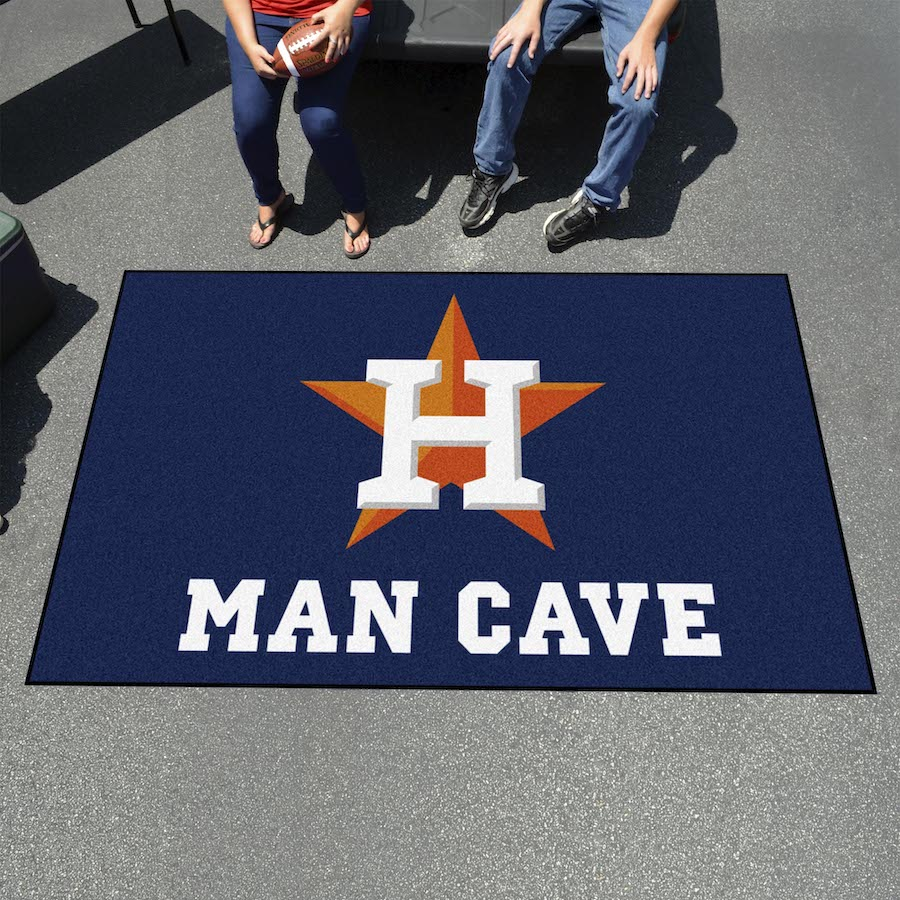 Houston Astros UTILI-MAT 60 x 96 MAN CAVE Rug