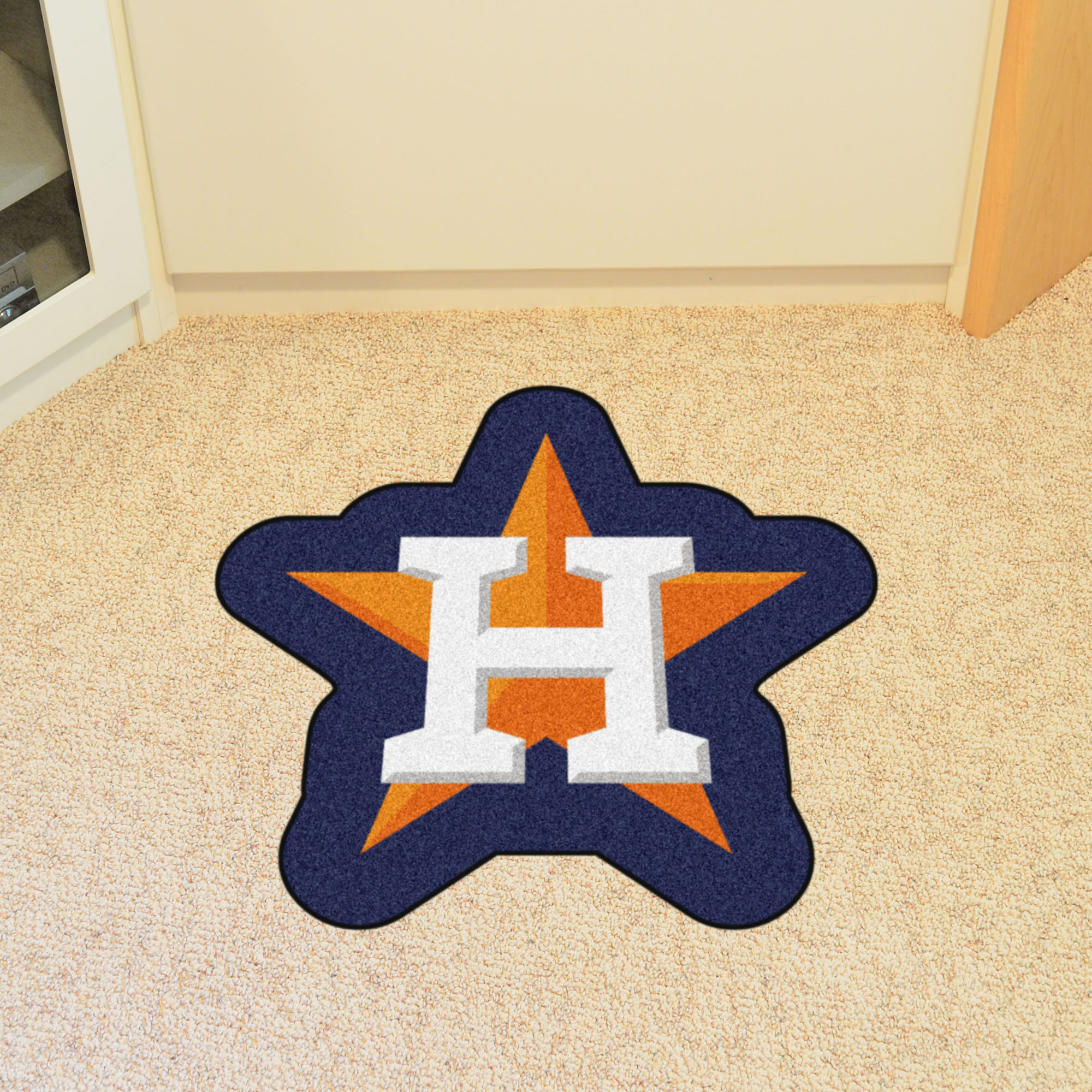 Houston Astros MLB MASCOT Mat