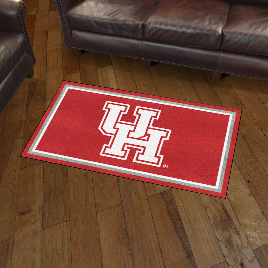 Houston Cougars 3x5 Area Rug