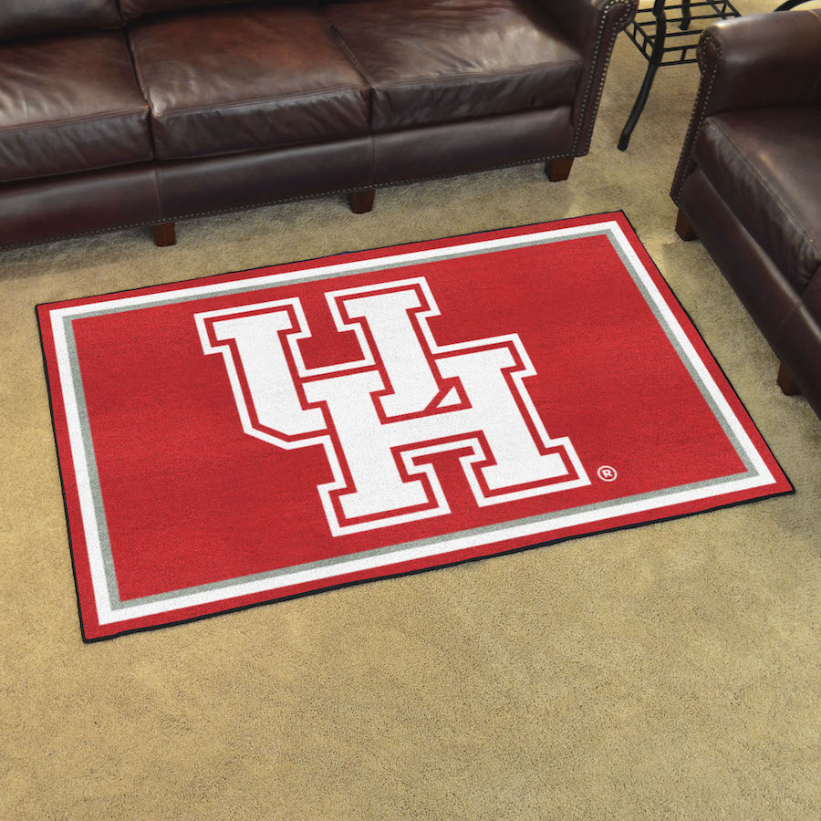 Houston Cougars 4x6 Area Rug