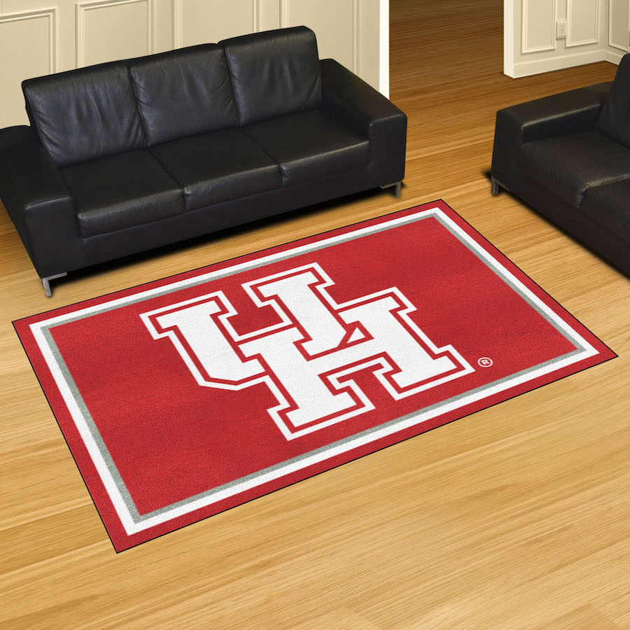 Houston Cougars 5x8 Area Rug
