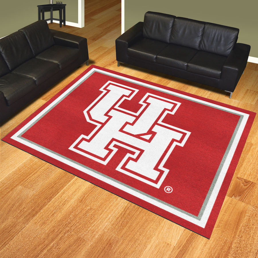 Houston Cougars Ultra Plush 8x10 Area Rug