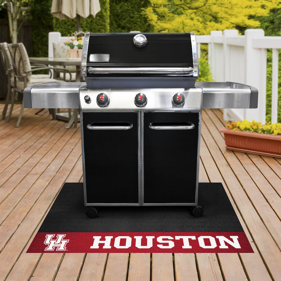 Houston Cougars NCAA Grill Mat