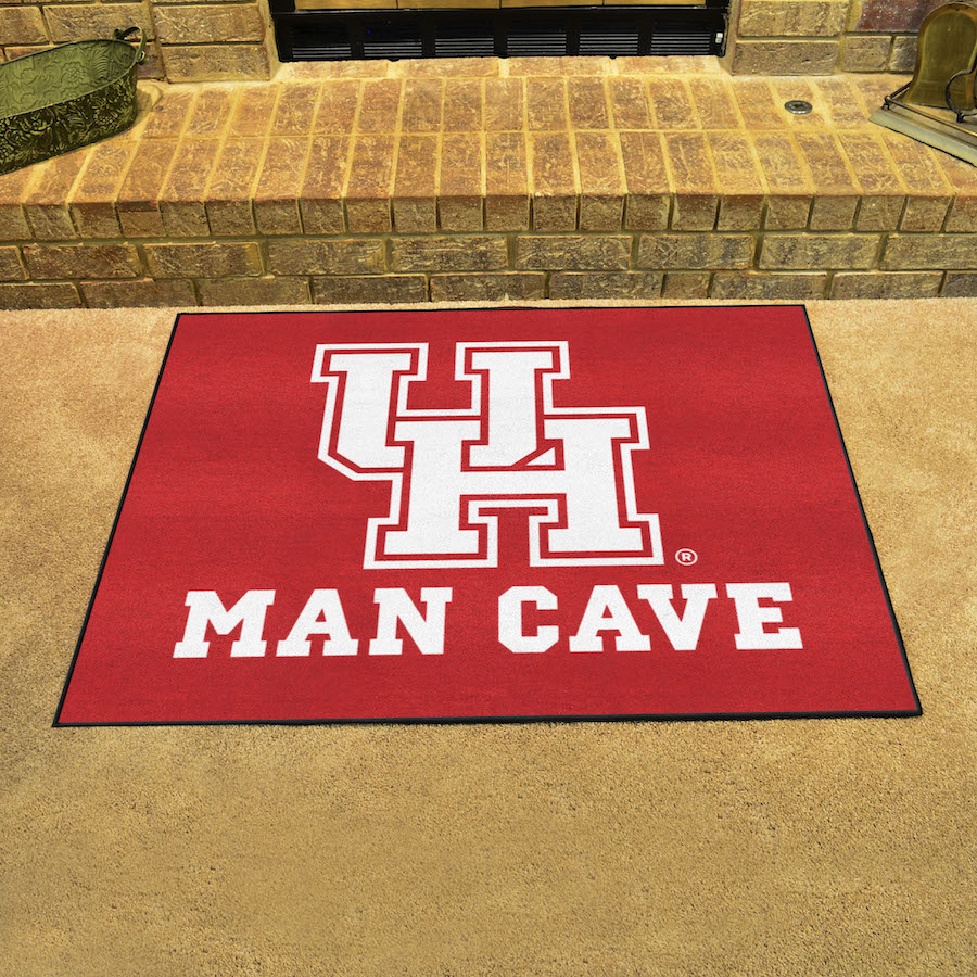 Houston Cougars ALL STAR 34 x 45 MAN CAVE Floor Mat