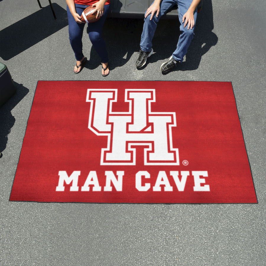 Houston Cougars UTILI-MAT 60 x 96 MAN CAVE Rug