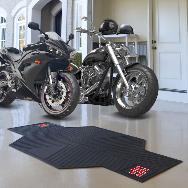 Houston Cougars Motorcycle Mat