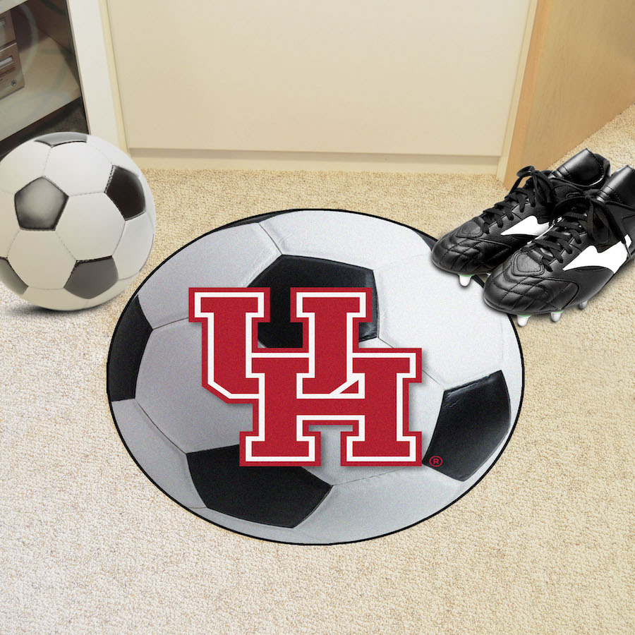 Houston Cougars SOCCER BALL Mat