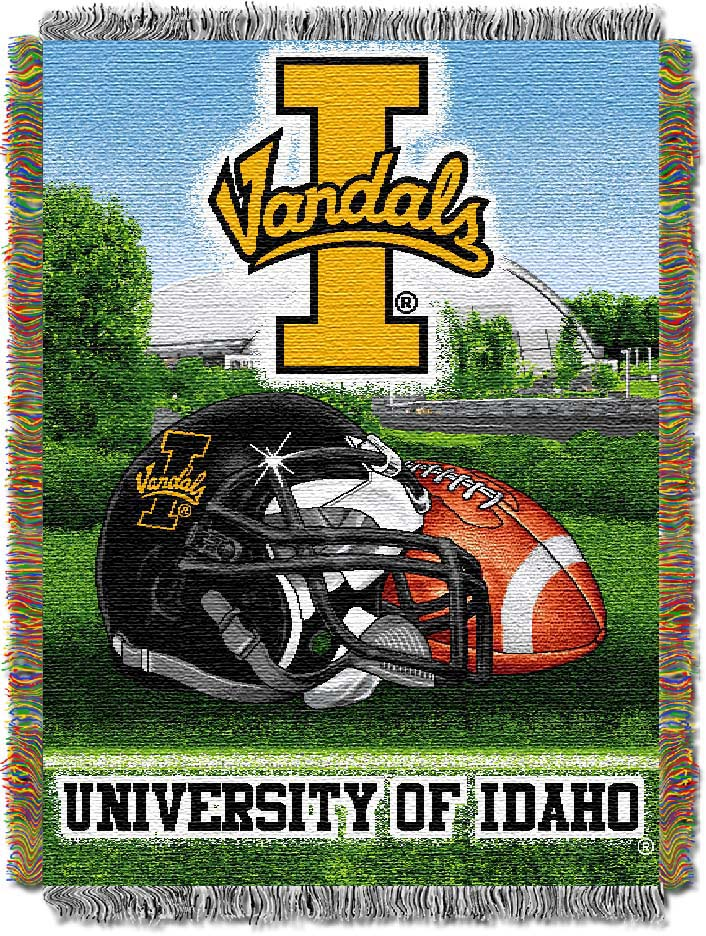 Idaho Vandals Home Field Advantage Series Tapestry Blanket 48 x 60