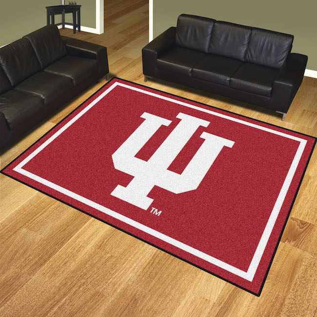Indiana Hoosiers Ultra Plush 8x10 Area Rug