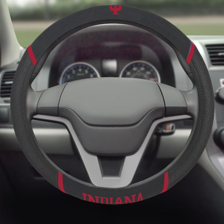 Indiana Hoosiers Steering Wheel Cover