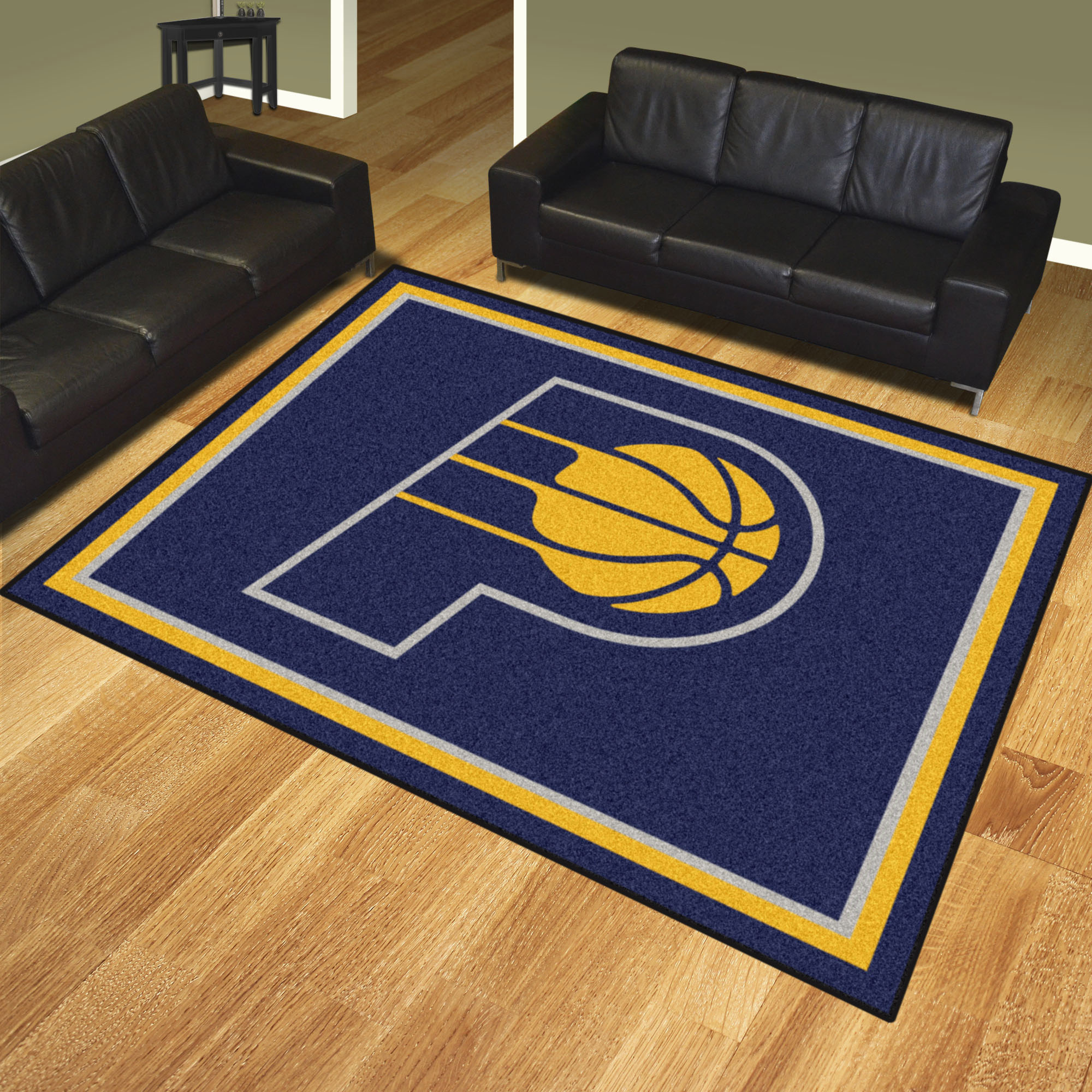 Indiana Pacers Ultra Plush 8x10 Area Rug