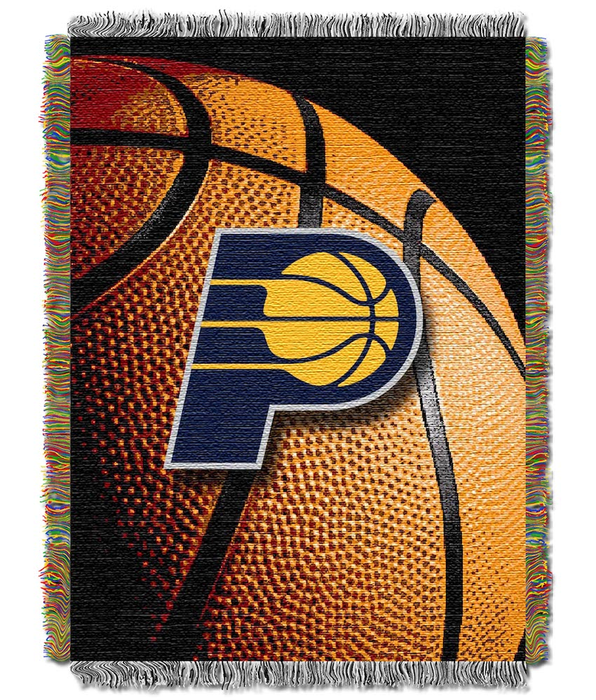 Indiana Pacers Real Photo Basketball Tapestry