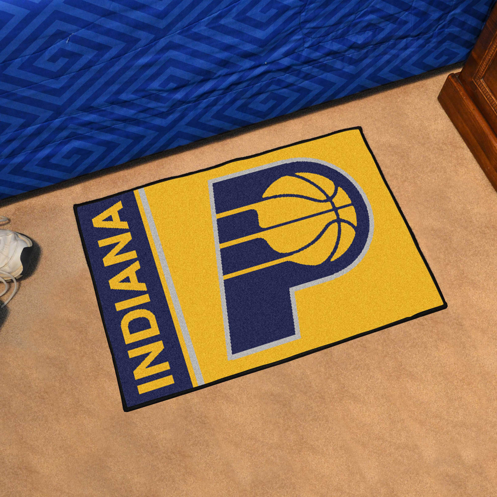 Indiana Pacers 20 x 30 Uniform Inspired Starter Rug