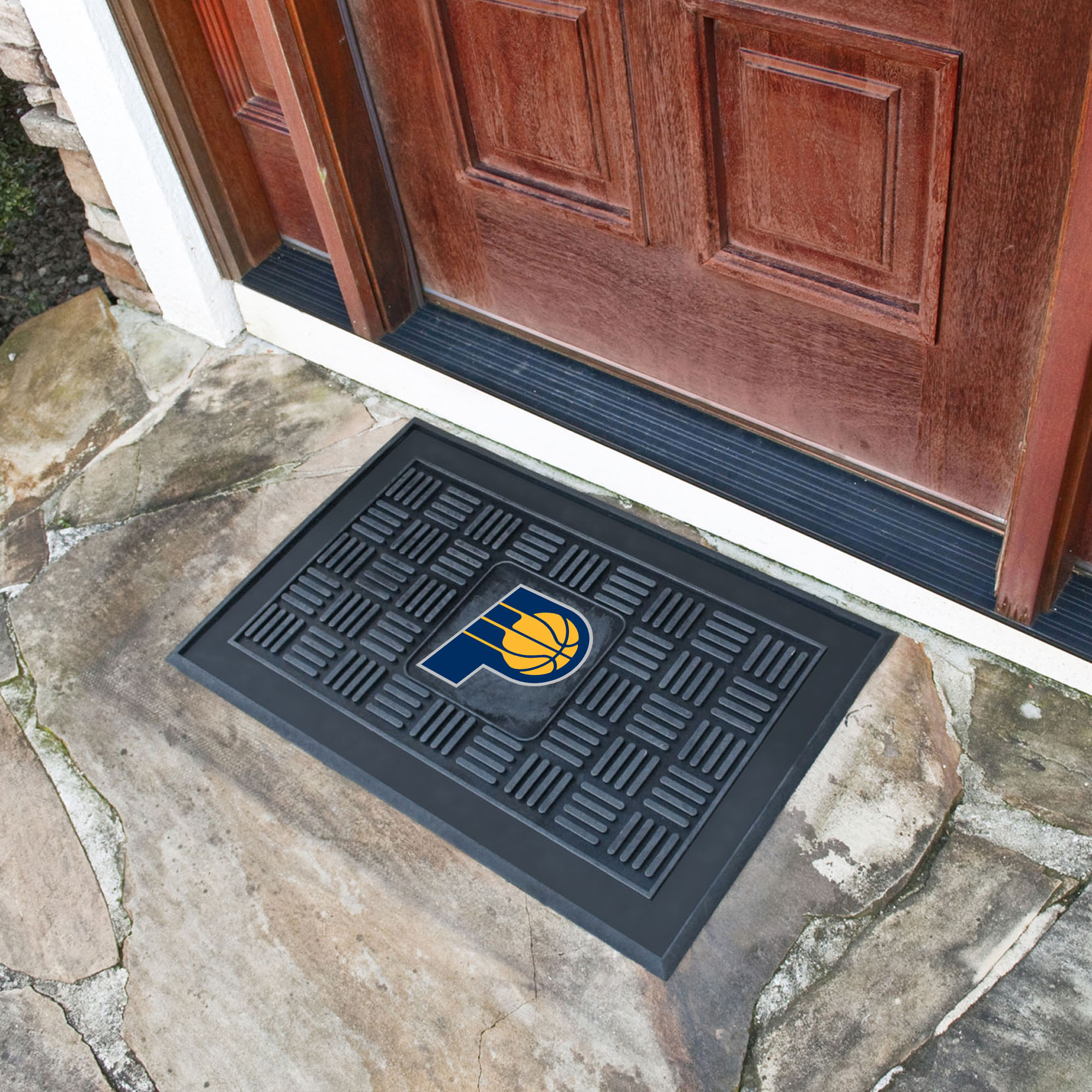 Indiana Pacers MEDALLION Vinyl Door Mat