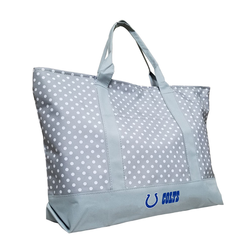 Indianapolis Colts Dot Tote Bag